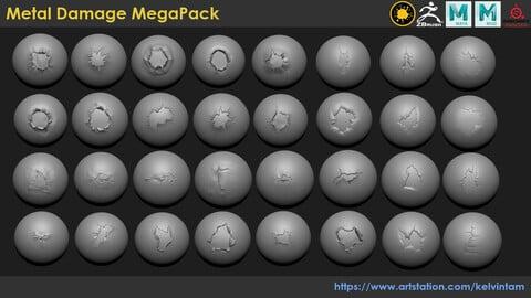 Metal Damage MegaPack (pack 2)