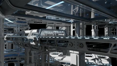 Sci-Fi Structure Kit 71