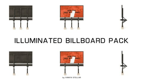 Illuminated Billboard Pack