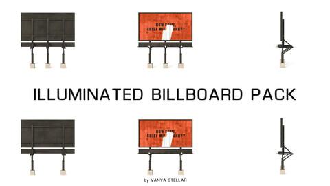 Illuminated Billboard Pack