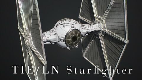 TIE/LN Starfighter (TIE Fighter) | Gameready