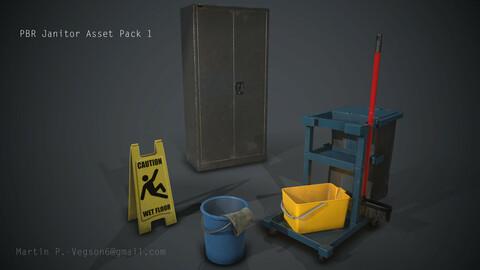 [PBR] Janitor Asset Set 1