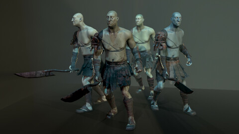 Big Orc warrior