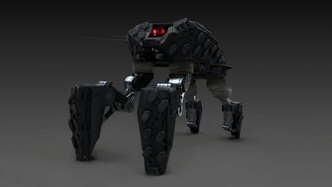 Mech Concept Design: 3D-2D Workflow