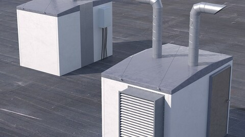 Set for the roof of houses