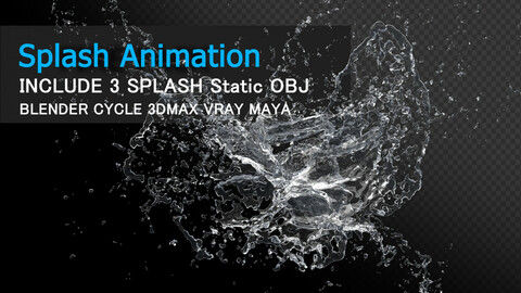 Water Splash Animation