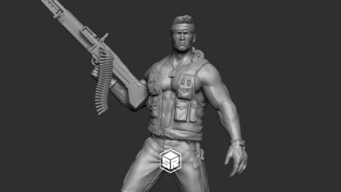 Soldier - 3D Print Ready