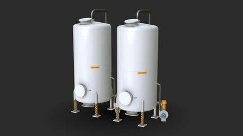 Industrial Absorbent Tank