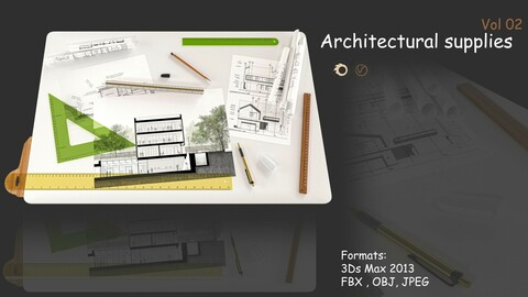 Architectural supplies Vol 02