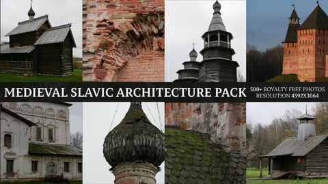 Medieval Slavic Architecture Pack