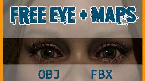 Free Game Ready Eye