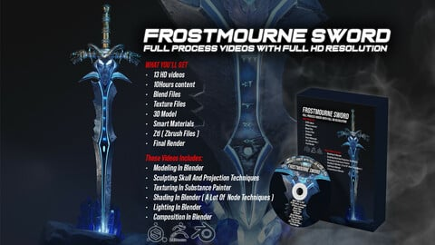 Frostmourne Sword Full Process + Files