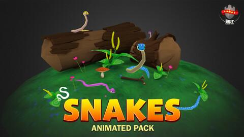 Snake animated pack
