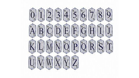 ancient stone alphabet 02