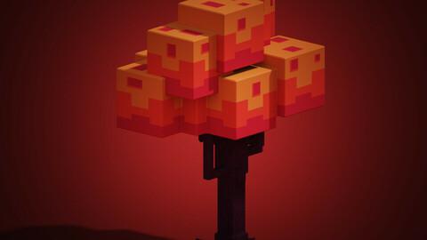 Big blocky tree