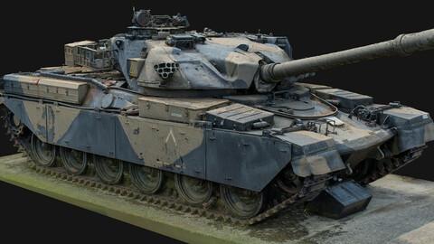 Chieftain Tank Scan.