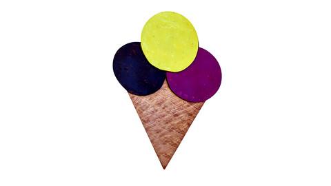 ice cream signboard