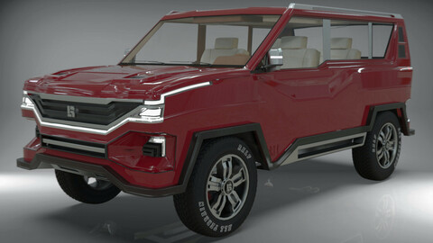 SUV original vehicle design