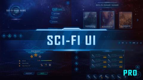 SCI-FI UI Pack Pro