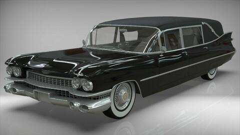 Cadillac Hearse Space Wagon Victoria SS 1959