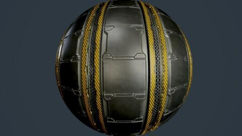 Sci-Fi Military Seamless PBR Texture 85