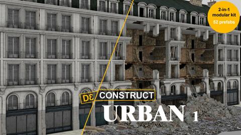 Modular Urban Destruction Kit