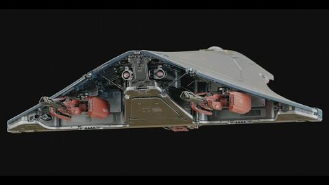 Stingray Concept (Blender/Photoshop)