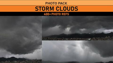 Storm Clouds 400+ Photo Refs