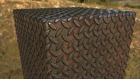 Rusty Iron Floor Material