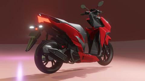 Honda Vario 2019 3D Model