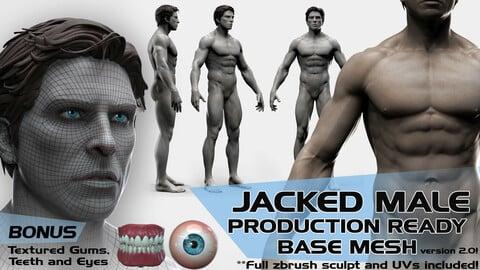 JACKED Production Ready Male Base Mesh