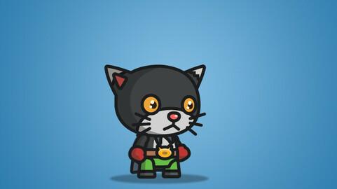 Super Black Cat