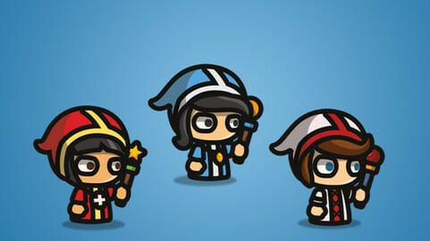 Priest – Tiny Style Character