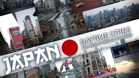 Japan - Daytime Cities