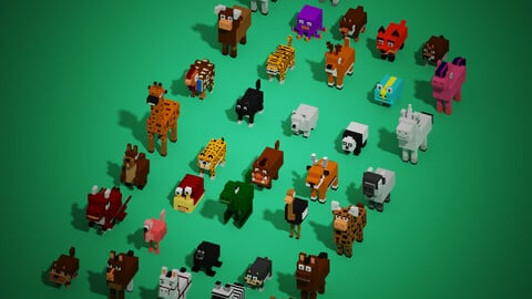 Mega packs of animals