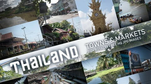 Thailand Towns and Markets Photopack