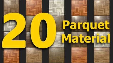 20 Parquet Material