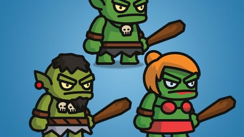 Ogre Tiny Style Character