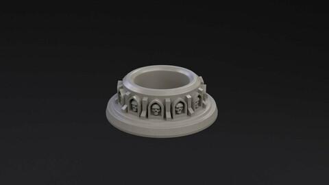 Paint Pot Holder Ecclesiarchy for 3D Print