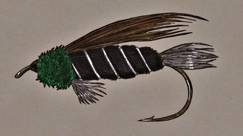 Doc Spratley fly pattern