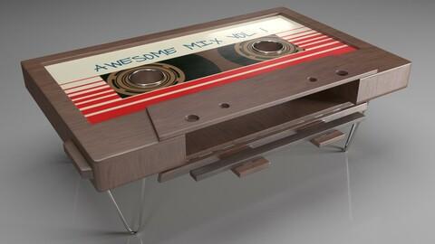 Coffee Table  Cassette mesa cassette