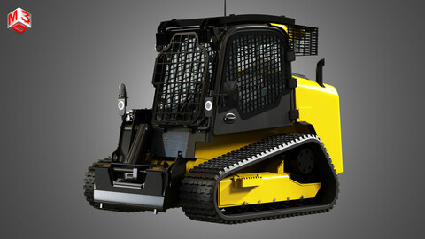 JCB Skid Steer Loader 325T 3D model