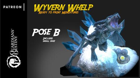 3D Print - Frost Wyvern Pose B