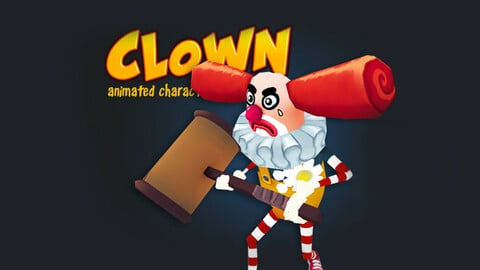 Clown animated character
