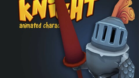 Knight Animated Character