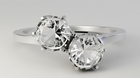 Duo Hex Ring