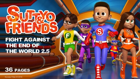 Suttyo and Friends 2.5 - Fight against the end of the World 2.5