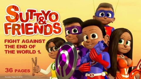 Suttyo and Friends 1. - Fight against the end of the World 1.