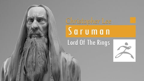 Christopher Lee - Saruman - Lord of the RIngs