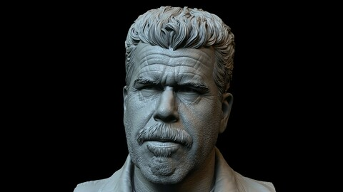 Ron Perlman as Clay Morrow from Sons of Anarchy - 3d print model